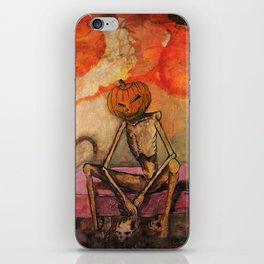 Halloween Head: Monsters iPhone Skin
