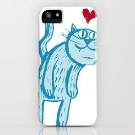 Luuuurv Cat iPhone Case