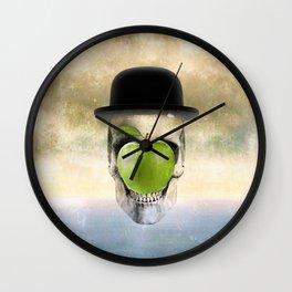 Magritte Skull Wall Clock