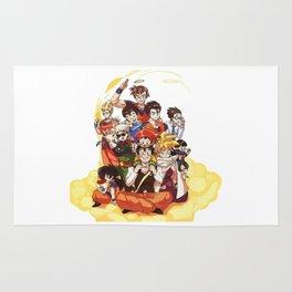 Goku Family Rug