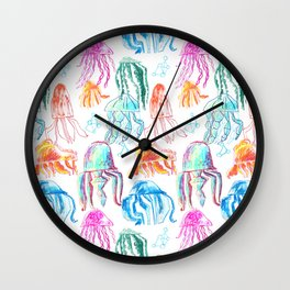Jellyfish Wall Clock