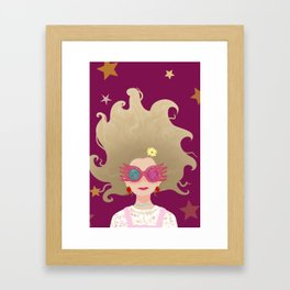 Loony Lovegood Framed Art Print