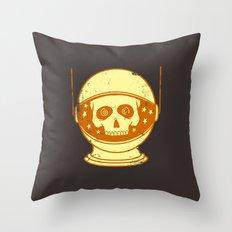 Intergalactic Cotton Buds Throw Pillow