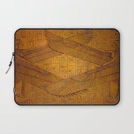 Egpytian Winged Godessess Laptop Sleeve
