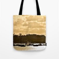 shining Tote Bags featuring Shining by JJ Images