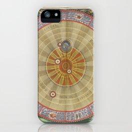 Keller's Harmonia Macrocosmica - Planisphere of Copernicus 1661 iPhone Case