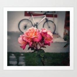 Flowers of El Calafate Art Print