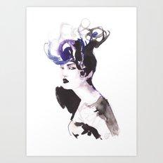 Hairstyle Art Print