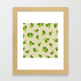 Bok Choy Vegetable Framed Art Print