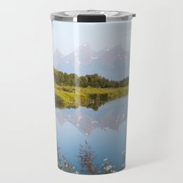 Grand Teton Reflection Travel Mug