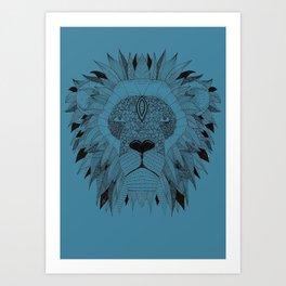bluelion Art Print