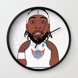 Trezz B*O*A*Q Wall Clock