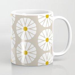 Botanical Daisies Minimal Pattern - #03 Coffee Mug