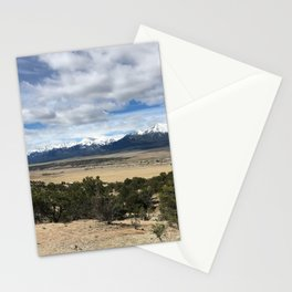 Snow-Capped Mountains Stationery Cards