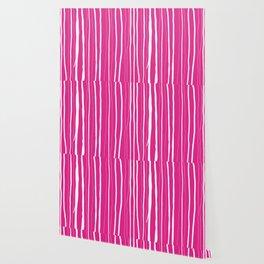 Vertical Living Hot Pink Wallpaper