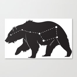 Ursa Major Bear Canvas Print
