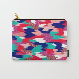 Elena Abstract Carry-All Pouch