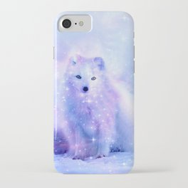 Arctic iceland fox iPhone Case