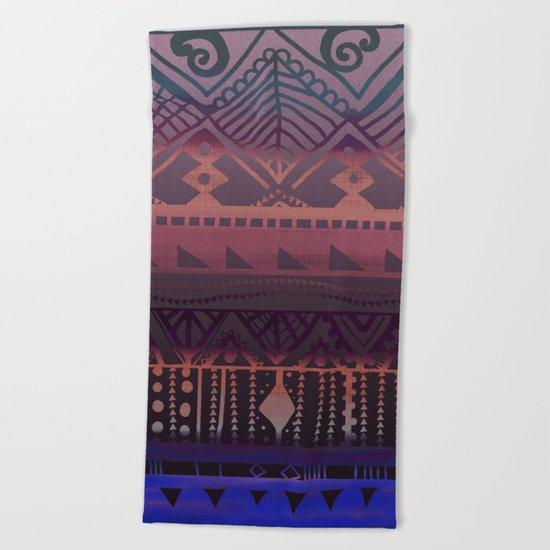 Tribal Paradise Beach Towel