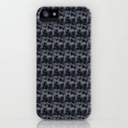 Smokey the Cat in Action iPhone Case