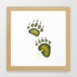 Tread Lightly Upon the Earth Framed Art Print