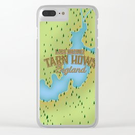 Tarn Hows, Lake District National Park, England Clear iPhone Case