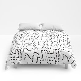 Simple shapes Comforters