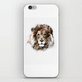 Portrait: Lion iPhone Skin