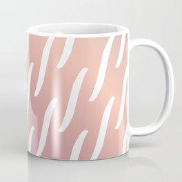 Pastel Pink and purple twist pattern Coffee Mug