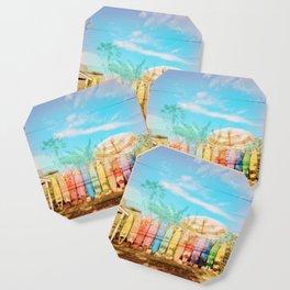 Beach Surf Layers Coaster