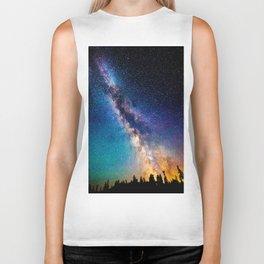 Milky Way Nights Biker Tank