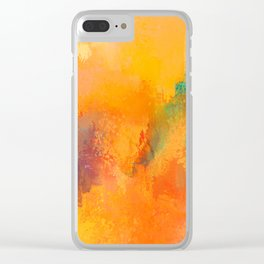 Expressions 6 Clear iPhone Case