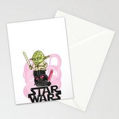 light VS dark Stationery Cards