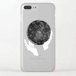 The Stargazer's Future is the Past Clear iPhone Case