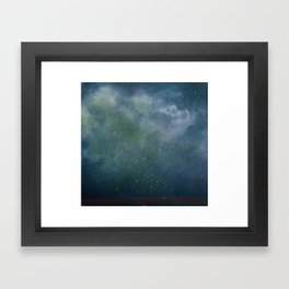 Space and time  Framed Art Print