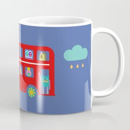 PINTMON_DOUBLE DECKER BUS  Coffee Mug