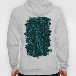 Binary Data Cloud Hoody