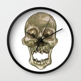 Skull - Decay and Rot Wall Clock