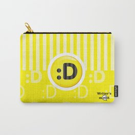 Yellow Writer's Mood Carry-All Pouch