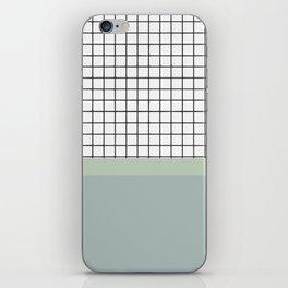 Minimalist abstract pastel iPhone Skin