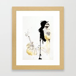 Penelope Framed Art Print