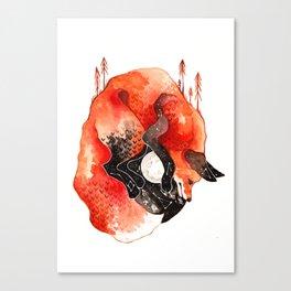Nebe - Fox Canvas Print