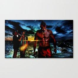 A Simple Dusk On Rook Island Canvas Print