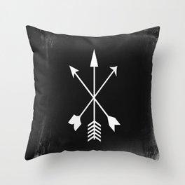 Arrow Design Throw Pillow