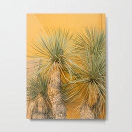 Green on yellow | San Miguel de Allende | Botanical fine art travel photography Metal Print