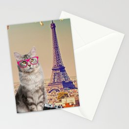 Louie in Paris Stationery Cards
