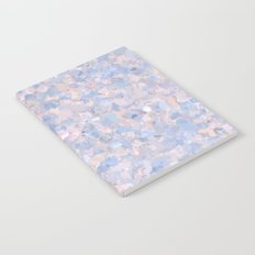 Light pink and blue popcorn 4647 Notebook
