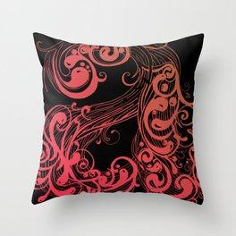 A A Throw Pillow