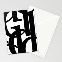 Hidden Letters. Baskerville D Stationery Cards