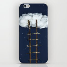 Stairway to the clouds iPhone Skin